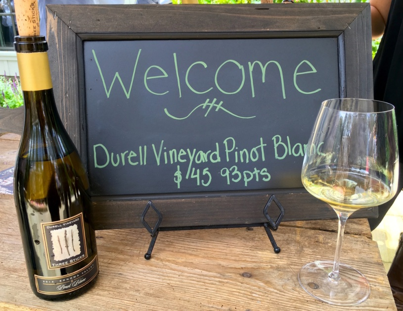 Three Sticks' Durell Vineyard Pinot Blanc
