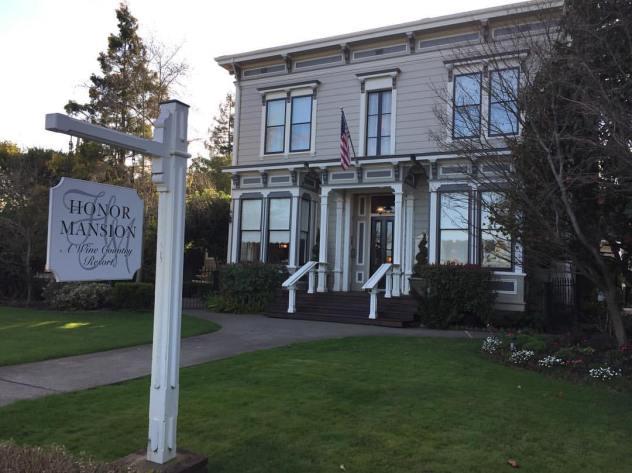 Honor Mansion, Healdsburg, California