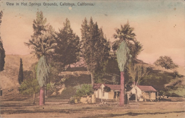 Calistoga Hot Springs (Photo: Napa County Historical Society)
