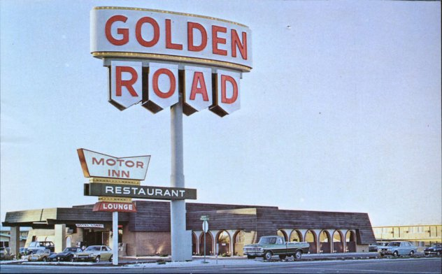 The Golden Road Motel, 1970s postcard
