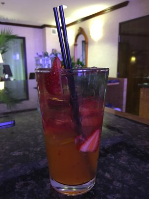 Strawberry Mojito at Atlantis Casino Resort Spa, Reno, Nevada