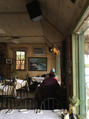 Dining room at Cafe Citti, Kenwood, California