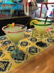 Margaritas at Taqueria La Hacienda, Sonoma, California