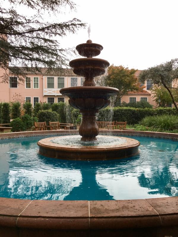 Fountain at the Fairmont Sonoma Mission Inn, Sonoma, California