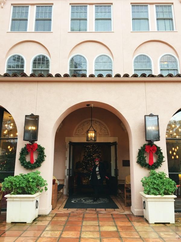 Entrance of the Fairmont Sonoma Mission Inn, Sonoma, California