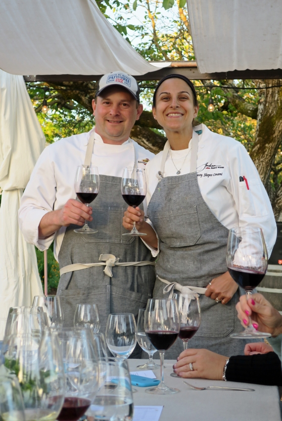 Executive Chef Justin Wangler and Chef Tracey Shepos from Kendall-Jackson